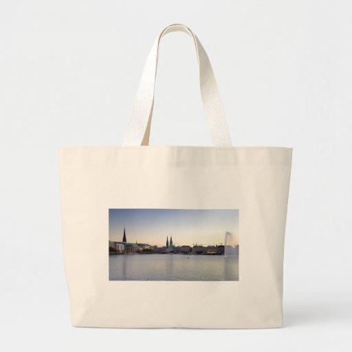Hamburg Harbor Hafen Hamburger Deutschland Bags