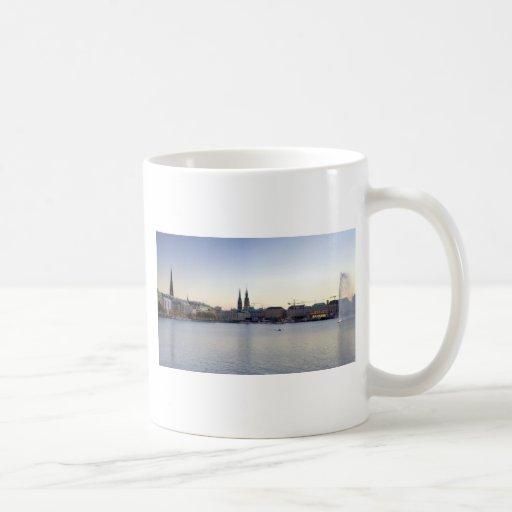 Hamburg Harbor Hafen Hamburger Deutschland Coffee Mug