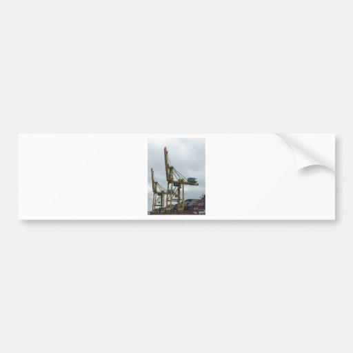 Hamburg port bumper stickers