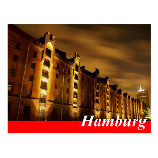 Hamburg postcard - memory city