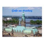 Hamburg Postkarte Postcard