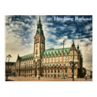 Hamburg Rathaus, Germany Postcard