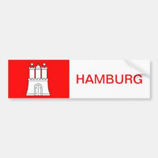 Hamburg sticker Sticker port autosticker car Bumper Sticker