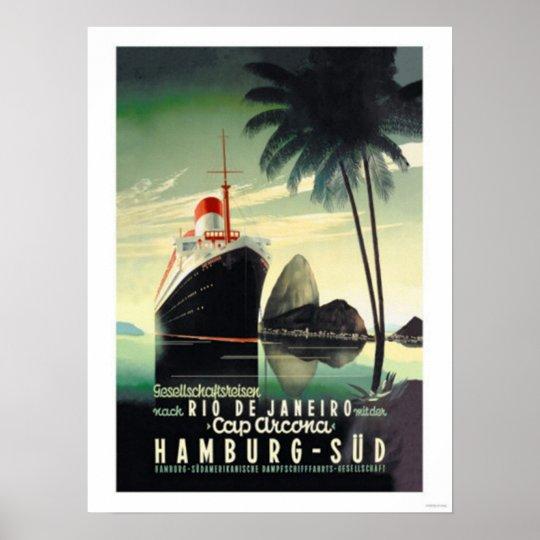 Hamburg to Rio de Janeiro on the Cap