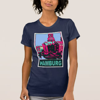 Hamburg Travel Poster T-Shirt
