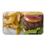 Hamburger and French Fries iPhone 3 Cover