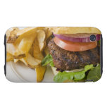 Hamburger and French Fries iPhone 3 Tough Covers