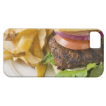 Hamburger and French Fries iPhone 5 Case