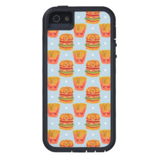 Hamburger and French Fries Pattern iPhone 5/5S Case