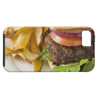 Hamburger and French Fries Tough iPhone 5 Case
