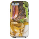 Hamburger and French Fries Tough iPhone 6 Case