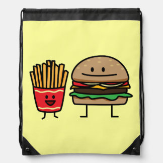 Hamburger and Fries Backpacks
