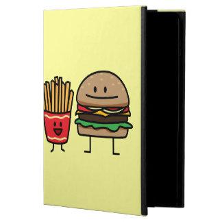 Hamburger and Fries fast food bun junk fried hot iPad Air Covers
