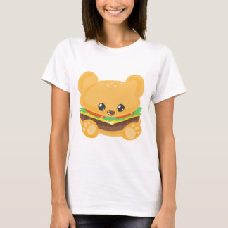 Hamburger Bear T-Shirt