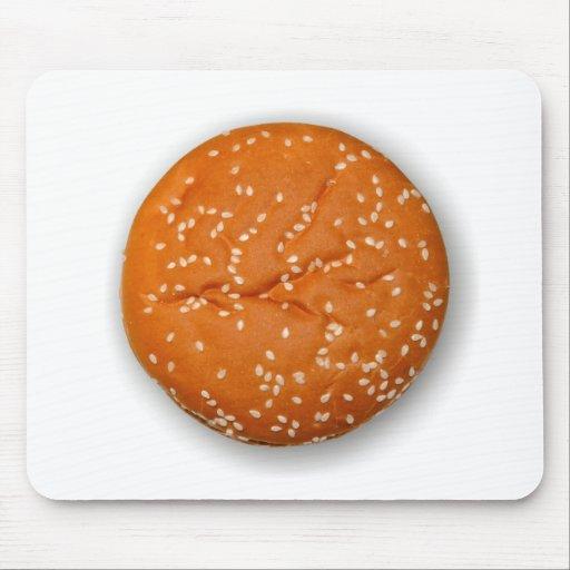 Hamburger Bun Mousepad