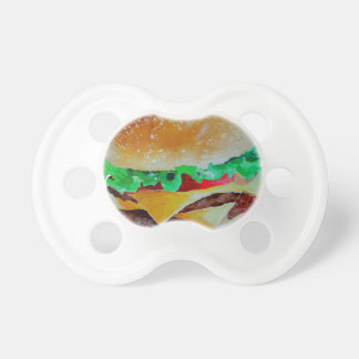 hamburger design, original painting dummy