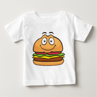 Hamburger Emoji Baby T-Shirt
