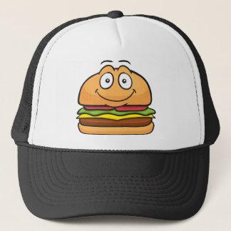 Hamburger Emoji Trucker Hat