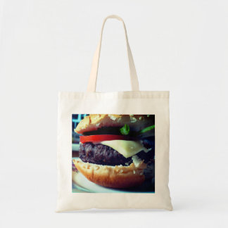 Hamburger-in-a-Bag Tote Bag