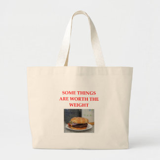 HAMBURGER JUMBO TOTE BAG