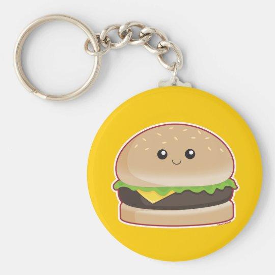 Hamburger Key Ring