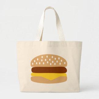 Hamburger Large Tote Bag