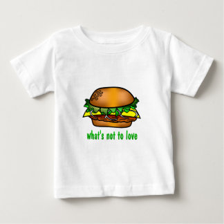 Hamburger Love Baby T-Shirt