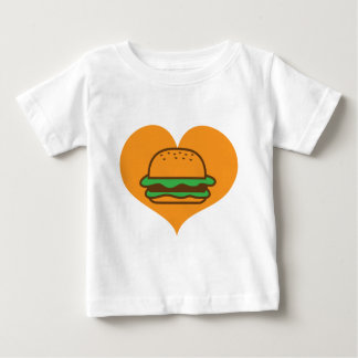 Hamburger lover baby T-Shirt