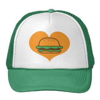 Hamburger lover cap