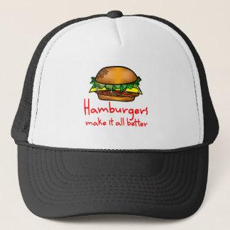 Hamburger Lover Trucker Hat