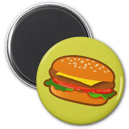 Hamburger Refrigerator Magnet