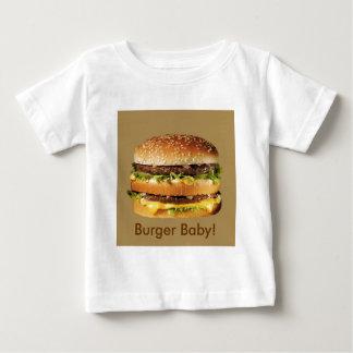 hamburger on tan tees