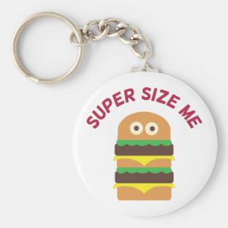 Hamburger_Super Size Me Key Chain