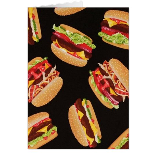 Hamburgers Card