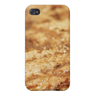 Hamburgers on the Grill iPhone 4/4S Cases