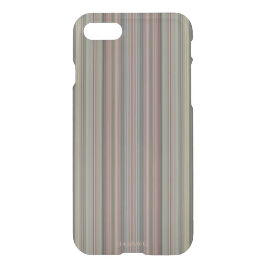 HAMbWG 6/6s Clearly™ Deflector Case - Mauve Stripe