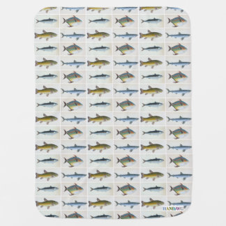 HAMbWG Baby Blanket - Four Fish