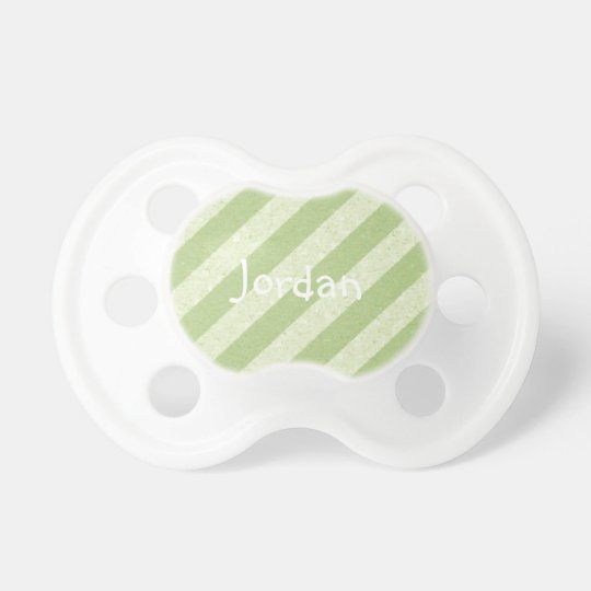 HAMbWG - BooginHead® Pacifier - Lime Stripe