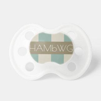 HAMbWG - BooginHead® Pacifier - When Love is True