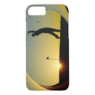 HAMbWG - Cell Phone Cover - Sunset Golfer