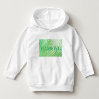 HAMbWG - Children's  T Shirt - Lime Swirl w Logo