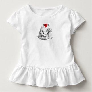 HAMbWG - Children's  T Shirt - Teddy Bear Love