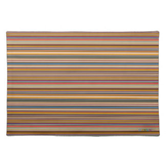 HAMbWG - Cloth Placemat - Colorful Bars