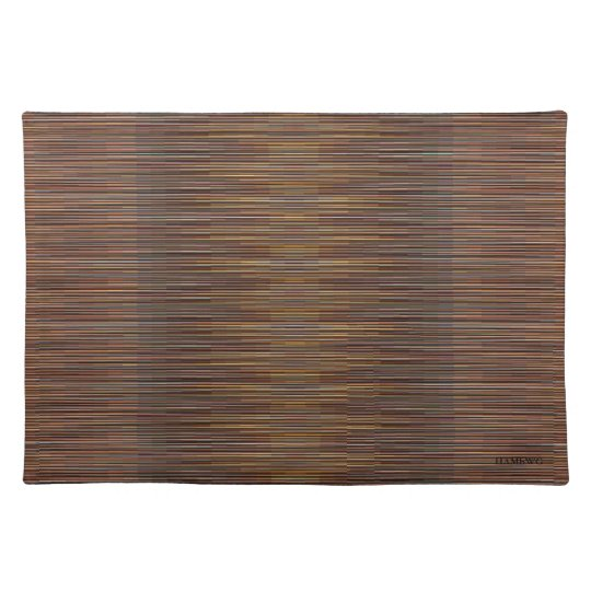 HAMbWG - Cloth Placemat - Colorful Bronze