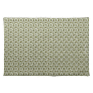 HAMbWG - Cloth Placemat - Olive Discs