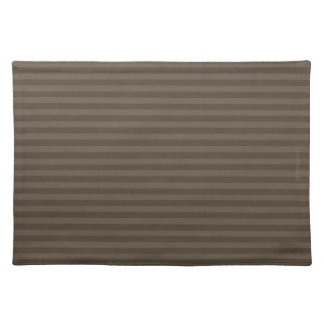 HAMbWG - Cloth Placemat - Two-tone small stripe