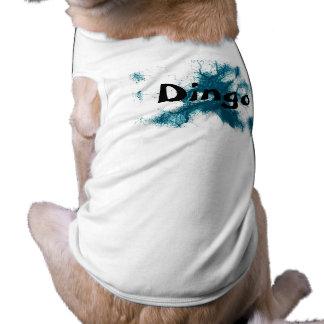 HAMbWG - Dog T-Shirts - Turqoise Ink