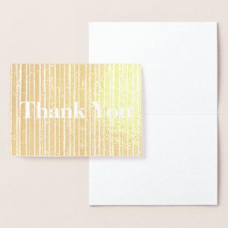 HAMbWG - Gold Foil Card