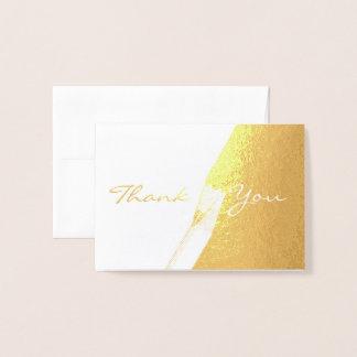 HAMbWG - Gold Foil Card - Thank You
