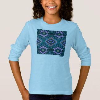 HAMbWG - Long Sleeve T-Shirt - Blue Hipster